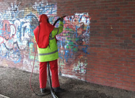 Graffiti removal – art or eyesore?