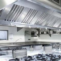 Certified kitchen extract and canopy cleaning.