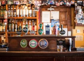 Licensed premises cleaning